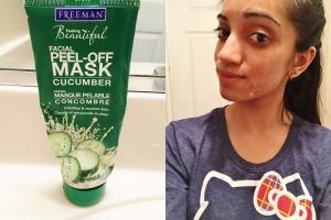 Freeman Feeling Beautiful: Cucumber Facial Peel-Off Mask