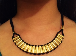 Bally Necklace in Gold
