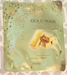 Esfolio Gold Mask - Gold Essence Mask Sheet