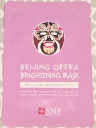 SNP Beijing Opera Brightening Sheet Mask