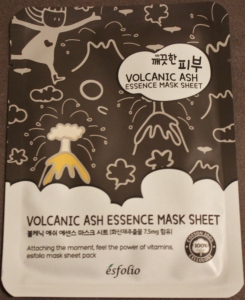 Esfolio Volcanic Water Essence Mask Sheet