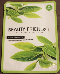 Beauty Friends: Green Tea Sheet Mask