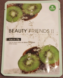 Beauty Friends: Kiwi Sheet Mask