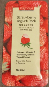 Pure Derm Strawberry Yogurt Mask Pack