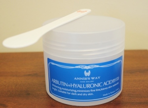 Annie's Way Arbutin + Hyaluronic Acid Brightening Jelly